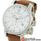 BURBERRY バーバリー 腕時計 ウォッチ 生産終了モデル ユティリタリアン クロノグラフ ホワイト/ブラウンレザー BU7817