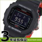 カシオ G-SHOCK 腕時計 デジタル メンズ  ブラック レッド
