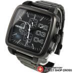 ショッピングディーゼル ディーゼル DIESEL メンズ 腕時計 ダブルダウンスクエア クロノグラフ DZ4300 ブラック