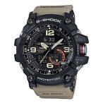 ショッピングGG CASIO カシオ G-SHOCK ジーショック メンズ アナデジ アナログ マッドマスター 腕時計 GG-1000-1A5 海外モデル ブラック×カーキー×レッド