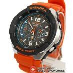 ショッピングGW CASIO カシオ スカイコックピット 腕時計 G-SHOCK Gショック メンズ 人気 電波 ソーラー GW-3000M-4AER g-shockブラック 黒 オレンジ GW-3000M-4A 海外モデル