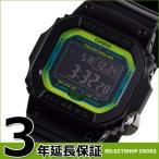 カシオ Gショック ベーシック 電波ソーラー メンズ 腕時計 黒