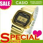 CASIO カシオ LA670WGA ゴールド クリスマス
