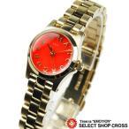 ショッピングMARC マーク バイ マークジェイコブス レディース 腕時計 アナログ Henry Dinky MBM3202 オレンジ/ゴールド