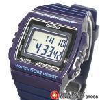 チプカシ 安い かわいい チープカシオ カシオ CASIO メンズ 腕時計 デジタル ベーシック W-215H-2A ネイビー 海外モデル おしゃれ ポイント消化