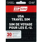 30日間 (通話+SMS+データ通信2GB) ZIP SIM アメリカ プリペイドSIM (※旧名称 READY SIM 2016年4月より商品名・パッケージが変更となりました)
