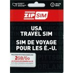 ショッピングアメリカ 2GB(SMS+データ通信2GB) ZIP SIM アメリカ プリペイドSIM (※旧名称 READY SIM 2016年4月より商品名・パッケージが変更となりました)