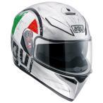 Agv K-3 Sv Scudetto フルフェイスヘルメット シルバー