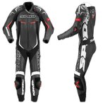 Spidi(スピーディ)Track Wind Replica Evo Leather Suit レーシングスーツ ブラックホワイト