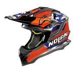 Nolan(ノーラン) N53 Practice Replica Stoner Suzuka Scratched   オフロードヘルメット オレンジ