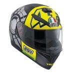 Agv  K-3 Sv Winter Test 2012 Plk   フルフェイスヘルメット  ブラックイエロー