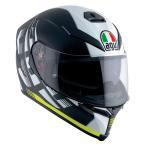 Agv  K-5 S Darkstorm   フルフェイスヘルメット  ブラックイエロー