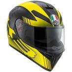 Agv  K-3 Sv Glimpse Plk    フルフェイスヘルメット ブラックイエロー