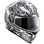 Agv  K-3 Sv Thyrus    フルフェイスヘルメット ホワイトブラック