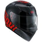 Agv  K-3 Sv Mith Plk   フルフェイスヘルメット ブラックグレーレッド