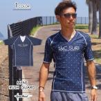 ショッピングラッシュ ラッシュガード 半袖 T&C Surf Designs タウン&カントリー デザイン タウカン ストレッチ メンズ 水着 UVブロック 紫外線防止 日焼け防止
