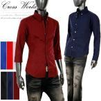ネクタイ付きシャツ メンズ ドレスシャツ シャツ 長袖 半袖 7分袖 ネイビー ブルー 黒 白 ワイン 赤 ピンク ボタンダウンシャツ カジュアルシャツ ホスト 904007