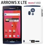 f05d 保護フィルム 付き arrows X LTE F-05D カバー ケース f04k f01k f05j スマホカバー f01j f03h f02h 耐衝 f01h f04g f02g f09e アローズx Fー05D white