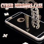 iPhone6 PLUS 保護フィルム付き]iPhone 6 plus iPhone6plus ケース カバー フィルム ミラーケース iphone5s iphone6s plus iphonese アイフォン 6 プラス mirror