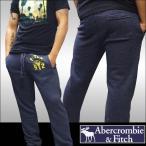 アバクロ メンズ スウェット パンツ ネイビー Abercrombie & Fitch A&F 正規 カジュアル ファッション アメカジ サーフ  好きに♪sp08