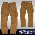 アバクロ メンズ カーゴ パンツ カーキ Abercrombie & Fitch A&F 正規 カジュアル ファッション アメカジ サーフ  好きに♪afc01