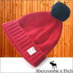 アバクロ Abercrombie&Fitch アバクロンビー&フィッチ ニットキャップ レッド 帽子 アメカジ ファッション ブランド インポート スタイル 正規 商品 04