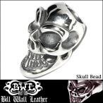 Bill Wall Leather BWL ビルウォールレザー シルバー ビーズ トップ チャーム Skull Bead C324 セレブ 愛用 アクセサリー ブランド