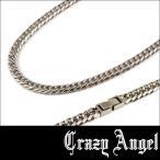 Crazy Angel クレイジーエンジェル ステンレス 6面 ダブル キヘイ ネックレス 喜平 5.7mm/50cm CA-961 アクセサリー ジュエリー ブランド アクセ メンズ