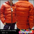 デシグアル メンズ ジャケット レッド Desigual 37E1922 7002 中綿 アウター ファッション インポート ブランド アメカジ セレブ カジュアル