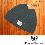 Deus ex Machina デウス エクスマキナ メンズ レディース 兼用 ニットキャップ NELSON BEANIE BLACK デウスエクスマキナ ストリート サーフ