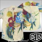 Deus ex Machina デウス エクスマキナ メンズ アロハ シャツ ホワイト  デウスエクスマキナ Safari サファリ 掲載 ブランド