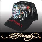 エドハーディー キャップ Ed Hardy Cap BATTLE ブラック プラチナム メンズ レディース