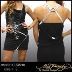 【20%OFF】 エドハーディー レディース ドレス ワンピース Ed Hardy ROSE ブラック セレブ ファッション カジュアル ハイブランド スタイル セール
