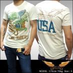 ROBIN'S JEAN ロビンズジーン メンズ Tシャツ SO CAL RIDERS オフホワイト 半袖 シャツ tシャツ safari サファリ 掲載 ブランド