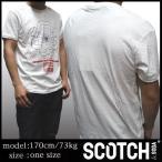 スコッチアンドソーダ SCOTCH&SODA メンズ 半袖 Tシャツ CERCANSI オフホワイト safari サファリ オーシャンズ 掲載 ロンハーマン 025