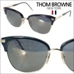 【即納】 【セレブ・芸能人愛用】トムブラウン THOM BROWNE メガネ サングラス TB-505-A-BLK-GLD-56 メンズ レディース 正規品 装飾品