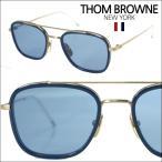 【即納】 【セレブ・芸能人愛用】 トムブラウン THOM BROWNE メガネ サングラス TB-800-B-GLD-NVY-51 メンズ レディース 正規品 装飾品