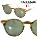 【即納】 【セレブ・芸能人愛用】 トムブラウン THOM BROWNE メガネ サングラス TB-806-B-WLT-GLD-48 折りたたみ メンズ レディース 正規品
