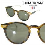 【即納】 【セレブ・芸能人愛用】 トムブラウン THOM BROWNE メガネ サングラス TB-806-B-WLT-GLD-52 折りたたみ メンズ レディース 正規品