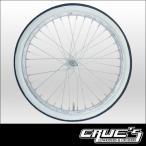 ホワイトリボン タイヤ 20インチ 20 x 1.75 自転車 パーツ 自転車部品 ローチャリ ビーチクルーザー カスタム