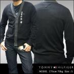 ショッピングHILFIGER TOMMY HILFIGER トミーフィルフィガー メンズ カーディガン 1ポイント ブラック 長袖 ニット トミー フィルフィガー 正規 アメカジ