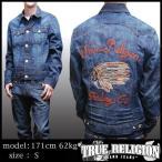 TRUE RELIGION トゥルーレリジョン メンズ デニムジャケット JIMMY 1971 HIDEOUT Denim Jacket 長袖 ジャケット サファリ 掲載  ブランド