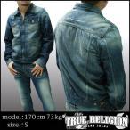 TRUE RELIGION トゥルーレリジョン メンズ デニムジャケット dead wood zip front ジャケット アウター 31 サファリ 掲載  ブランド