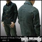 TRUE RELIGION トゥルーレリジョン メンズ デニムジャケット DINO BULE COLLAR WIDE GOODS ME ジャケット アウター 30 サファリ 掲載  ブランド