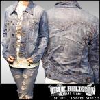 TRUE RELIGION トゥルーレリジョン レディース デニムジャケット VINTAGE デニム ジャケット safari サファリ 掲載 ブランド