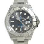 ロレックス ヨットマスター40 ロレジウム 腕時計/メンズ/人気 ダークロジウム ステンレススチール(SS)×PT 116622 ランクA
