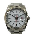 ロレックス ターノグラフ 腕時計 ウォッチ/人気★レア★ K18WG(750)ホワイトゴールド×ステンレススチール(SS) 116264 ランクA
