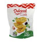 (代引き不可)Dulcesol(ドゥルセソル) ガーリック&オリーブオイル クリスプレッド 160g×10袋