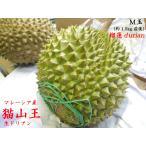ドリアン 猫山王 榴蓮 durian マレーシア産 生M玉(予約販売)