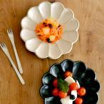 リンカ 白練 黒練 六寸皿 カネコ小兵 クッチーナ 和食器 皿 モダン おしゃれ プレート 17.5 センチ 中皿 磁器 美濃焼 陶器 日本製 白 黒